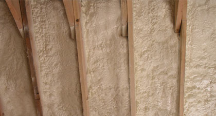 closed-cell spray foam for Topeka applications
