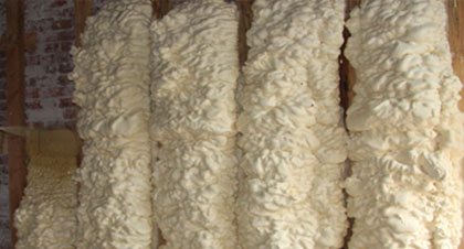 open-cell spray foam for Topeka applications